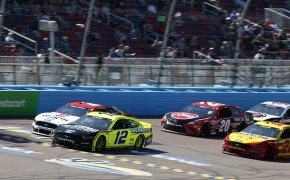 NASCAR Fields of Honor QuikTrip 500 - Brad Keselowski and Kevin Harvick