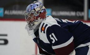 Blues vs Avalanche odds April 2nd - Philipp Grubauer