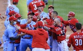 St. Louis Cardinals, Cincinnati Reds Brawl