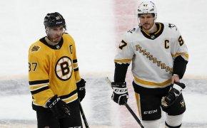 Patrice Bergeron, Sidney Crosby