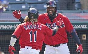 Jose Ramirez, Franmil Reyes, Cleveland Indians