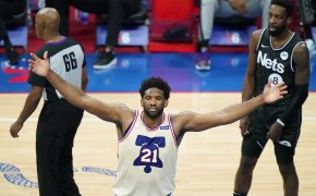 Joel Embiid celebration