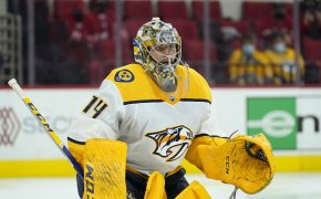 Nashville Predators vs Chicago Blackhawks Odds - April 21st - Juuse Saros