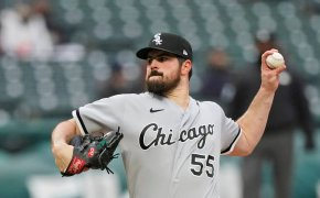 Carlos Rodon delivers a pitch