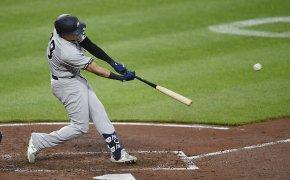 Gio Urshela smacks a home run