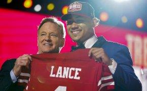 Trey Lance, San Francisco 49ers, 2021 NFL Draft