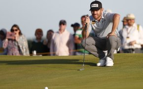Oosthuizen putting