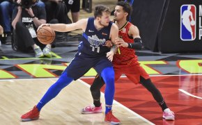 Doncic backs down Trae Young