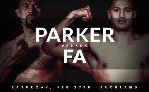 Parker vs Fa odds
