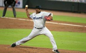 Sixto Sanchez of the Miami Marlins