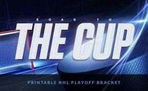 Printable NHL Playoffs bracket