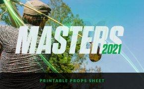 Masters Printable Props sheet