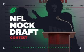 SBD's NFL mock draft contest