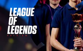 League of Legends LCK Playoffs - T1 and DWG Kia