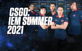 CSGO IEM Summer 2021 Odds - Gambit & Heroic