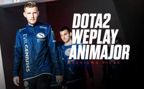 2021 Dota 2 WePlay AniMajor Odds - PSG.LGD and Team Aster