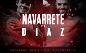 Navarrete vs Diaz odds - April 24th