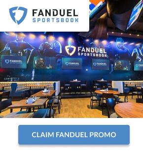 """FanDuel Sportsbook with """"Claim FanDuel Promo"""" button"""
