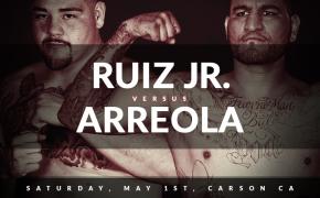 Andy Ruiz Jr. vs Chris Arreola odds - May 1st