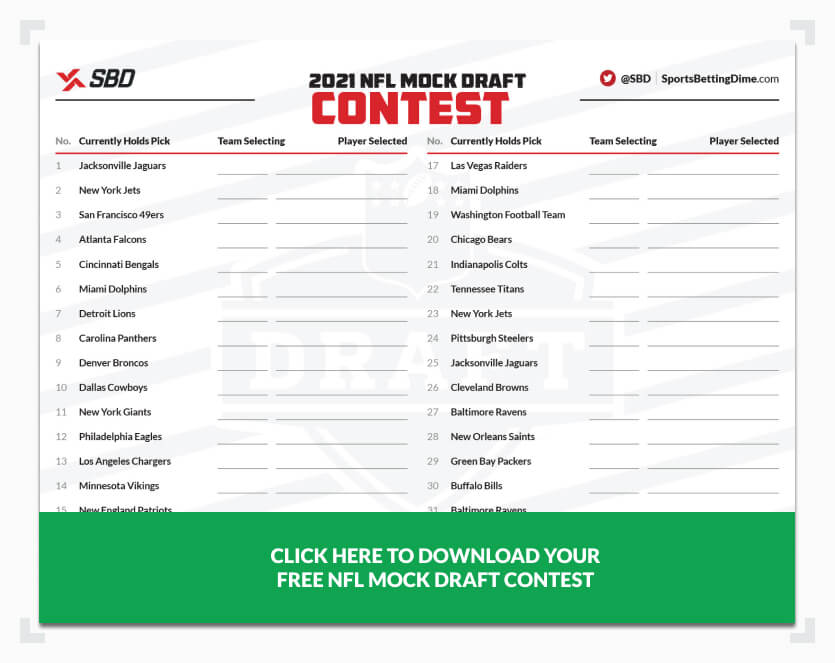 SBD's NFL mock draft template