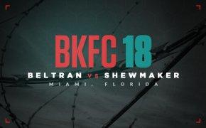 BKFC 18 odds - Beltran vs Shewmaker