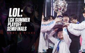 LCK Summer Playoffs Semifinals odds - DWG KIA