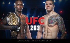 UFC 263 odds - Israel Adesanya vs Marvin Vettori
