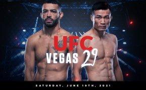 UFC Vegas 29 odds - Korean Zombie vs Dan Ige