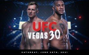 UFC Vegas 30 odds - Cyril Gane vs Alexander Volkov