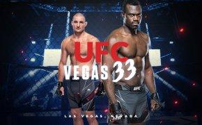 UFC Vegas 33 odds - Hall vs Strickland