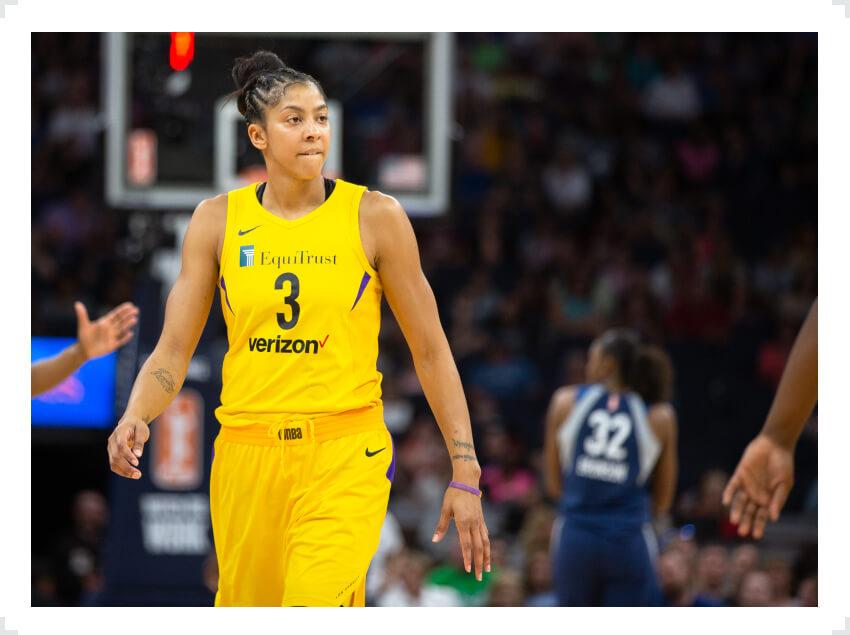 Two-time WNBA MVP winner Candace Parker