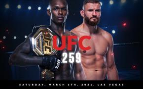 UFC 259 live odds