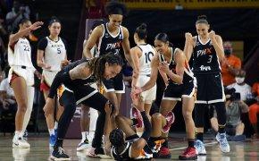 WNBA semifinal game