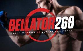 Bellator 268 odds