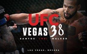 UFC Vegas 38 odds