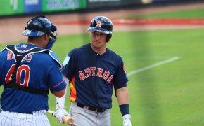 Alex Bregman at bat vs Cubs