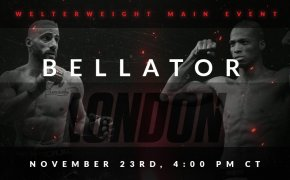 Bellator London welterweight matchup image