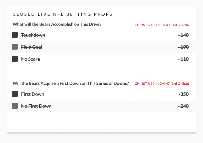 Nfl live betting rules point spread betting basketball teasers