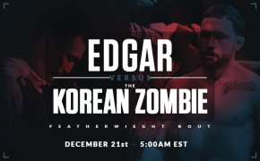 Chan Sung Jung vs Frankie Edgar promotional image