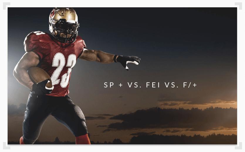 advanced college football ranking systems comparison
