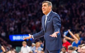 Jay Wright argues