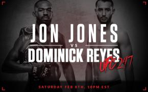 Jones vs Reyes promotional image