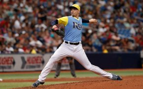 Tampa Bay Rays pitcher Blake Snell