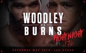 UFC Apex image - Woodley vs Burns