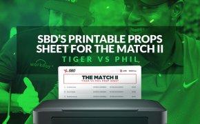 Tiger vs Phil props