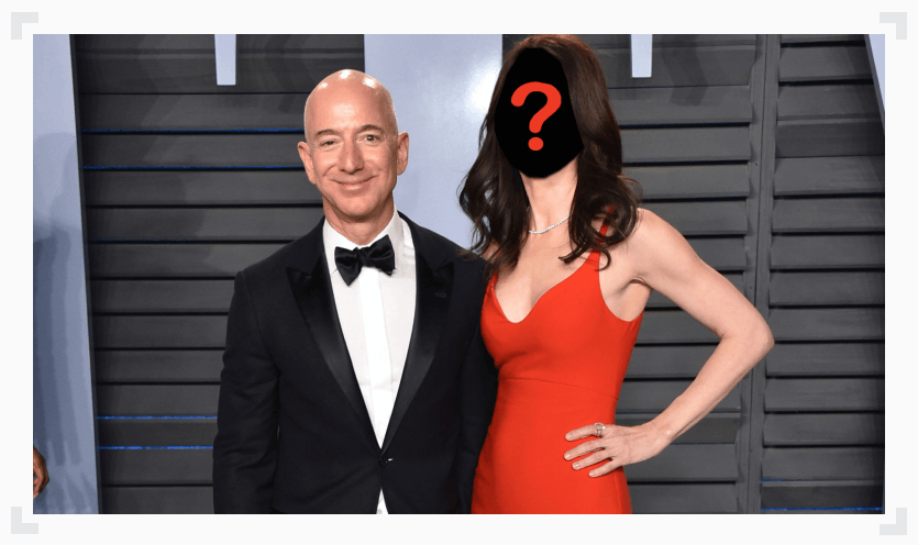 Jeff Bezos with mystery woman