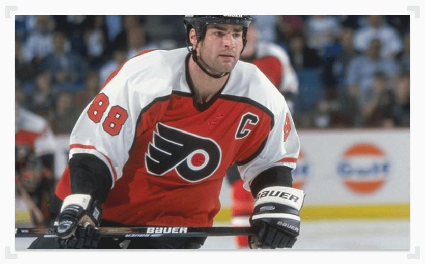 Eric Lindros Philadelphia Flyers