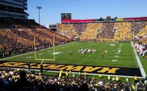 Iowa football stadium