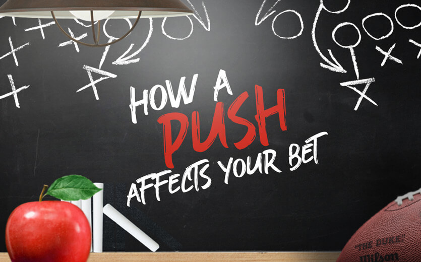 sports betting parlay push