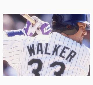 Larry Walker at bat
